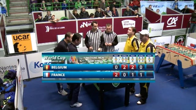 2013 Men's World Cup Semifinal: Franc...