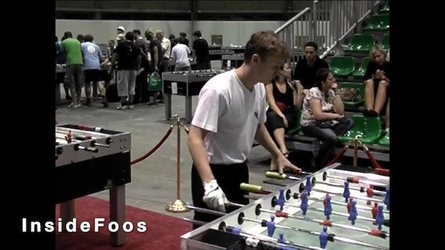 Frederic Collignon vs. Billy Pappas | Open Singles Final