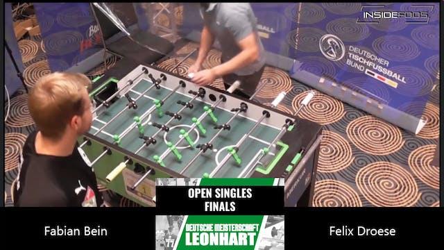 Felix Droese vs. Fabian Bein | Men's ...