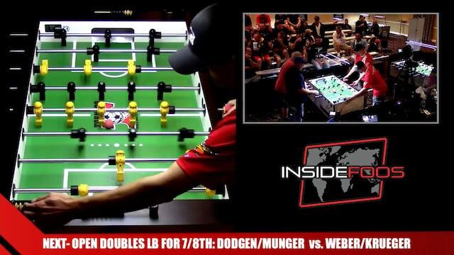 Dodgen/Munger vs. Weber/Krueger | Ope...
