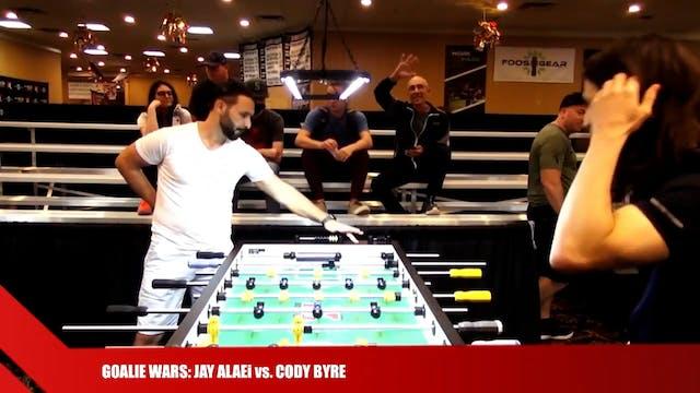 Jay Alaei vs. Cody Byre   Goalie Wars