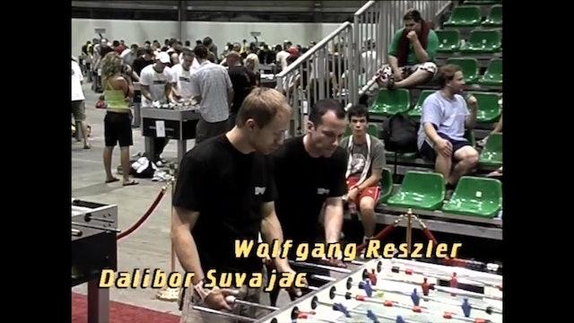 Suvajac/Reszler vs. Atha/Pappas | Open Doubles Loser's Bracket Final