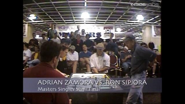 Adrian Zamora vs. Ron Sipiora | Open Singles