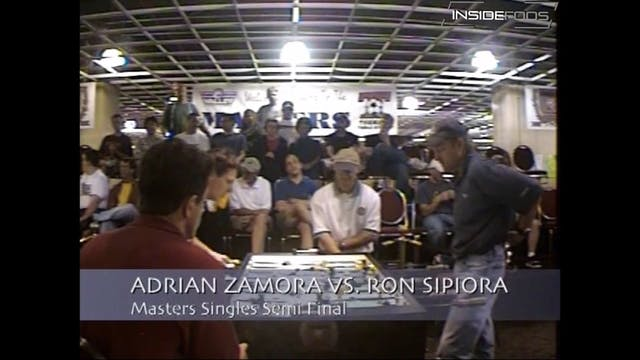 Adrian Zamora vs. Ron Sipiora | Open ...