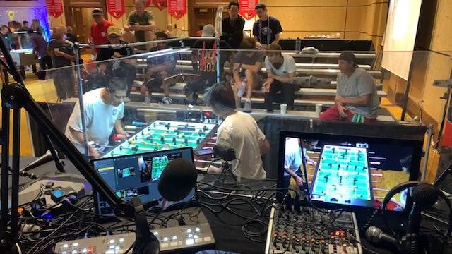 Jim Stevens' Saturday interviews around the tournament room