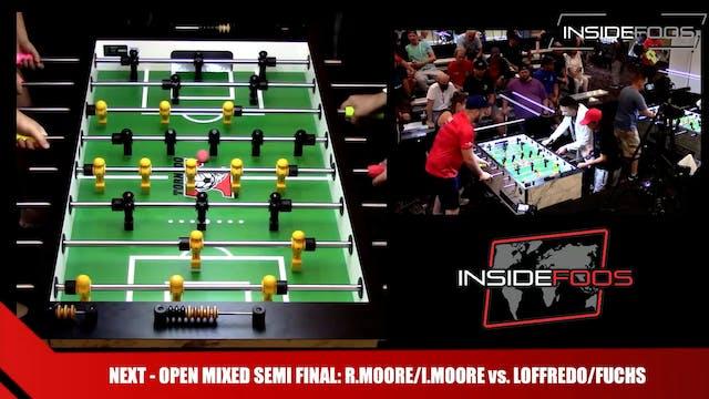 Open Mixed Doubles Semi Final | R.Moo...