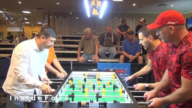 Dave Gummeson/Tracy McMillin vs. Liem Le/Dusty Bambenek   Open Doubles Round 16