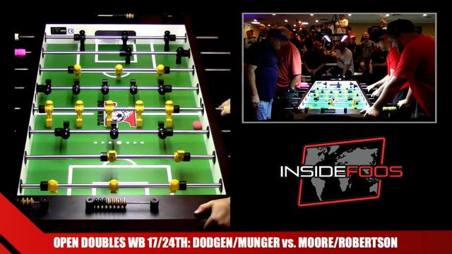 Dodgen/Munger vs. Moore/Robertson   O...