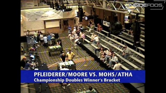 Rob Atha/Steve Mohs vs. Don Pleiderer/Ezekiel Moore   Championship Doubles