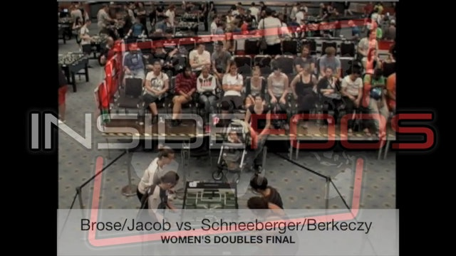 Jacob/Brose vs. Berkeczy/Schneeberger | Women's Doubles Final