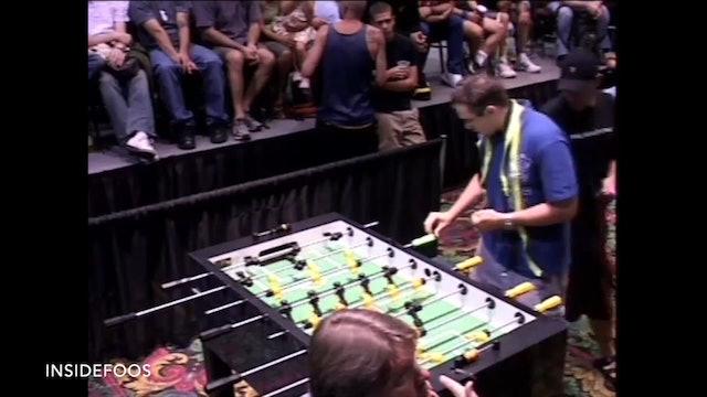 Tony Spredeman vs. Billy Pappas | Open Singles Semifinal