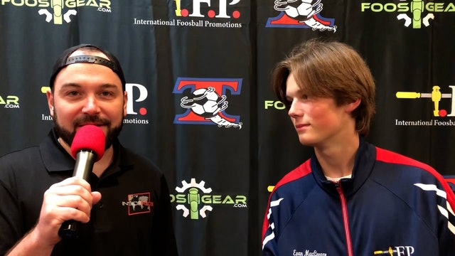 Interview with Evan McGregor at 2021 Tornado Championships