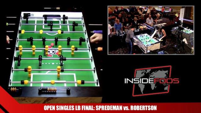 Open Singles Losers Bracket Final | T...