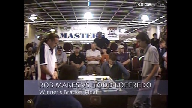 Todd Loffredo vs. Rob Mares | Open Singles