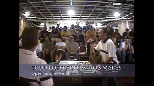 Rob Mares vs. Todd Loffredo | Open Singles Final