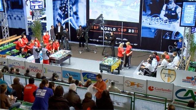 Germany vs. Austria | 2011 ITSF Women's World Cup Final