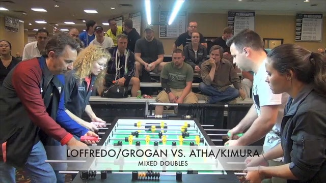 Loffredo/Grogan vs. Atha/Kimura | Mixed Doubles Quarterfinal