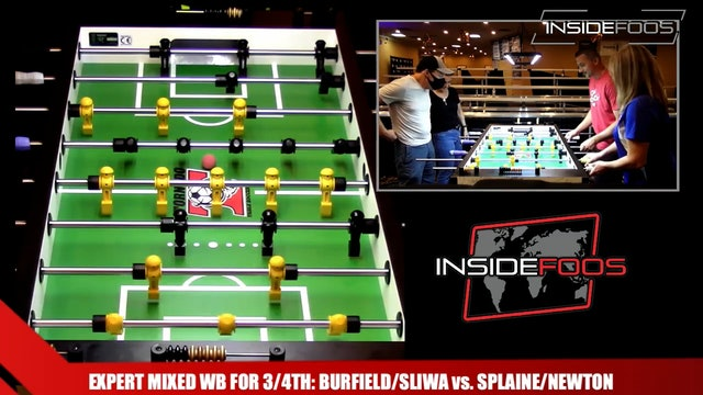 Burfield/Sliwa vs. Splaine/Newton | Expert Mixed WB for 3/4th