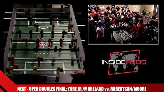 YoreJr./Moreland vs. Robertson/Moore | Open Doubles Final