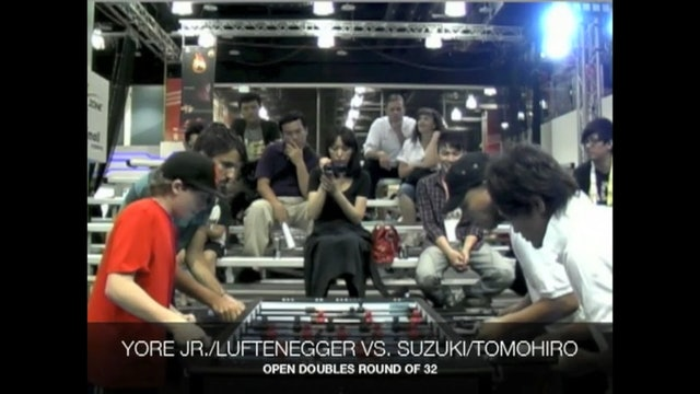 Yore, Jr./Luftenegger vs. Suzuki/Tomohiro | Open Doubles Round 32