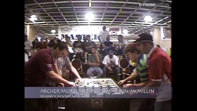 Dave Gummeson/Tracy McMillin vs. Mike Archer/Brandon Moreland | Open Doubles