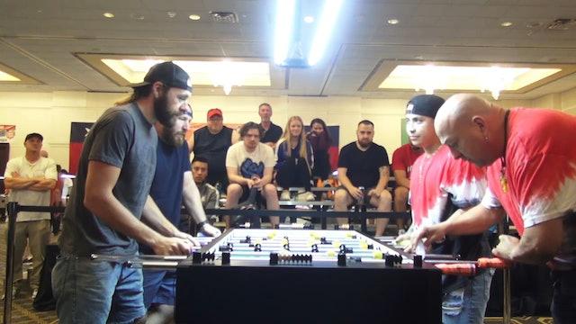 Spredeman/Hueltner vs. Munoz/Martinez   Open Doubles for 9th