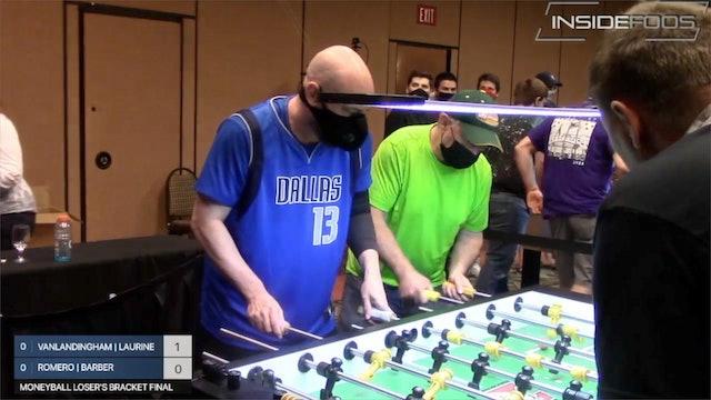 Warren Vanlandingham/Brad Laurine vs. Kevin Romero/Dan Barber | Moneyball LBF