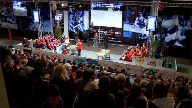 USA vs. Denmark | 2011 ITSF Men's Wor...