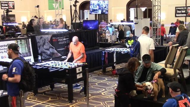 Brandon Munoz vs Tommy Yore Jr.   Open Singles Round 16