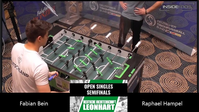 Fabian Bein vs. Raphael Hampel | Men's Singles Semifinal
