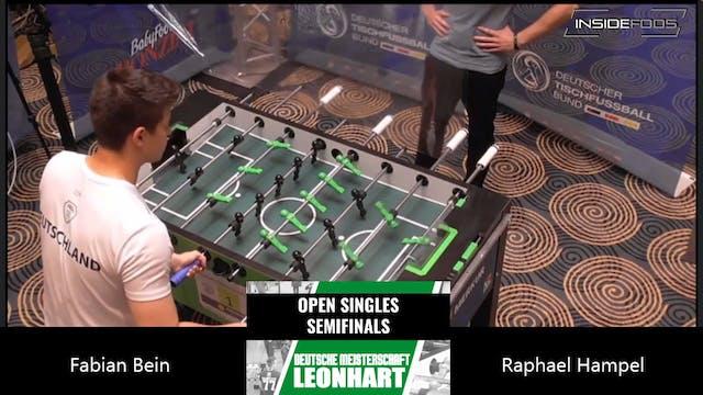 Fabian Bein vs. Raphael Hampel | Men'...
