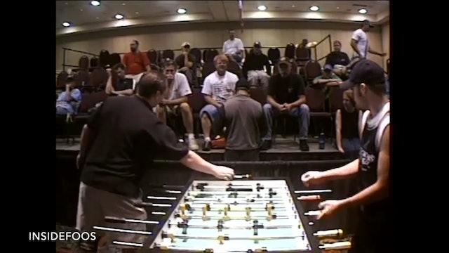 Dan Sloan vs. Tony Spredeman | Open Singles Round 32