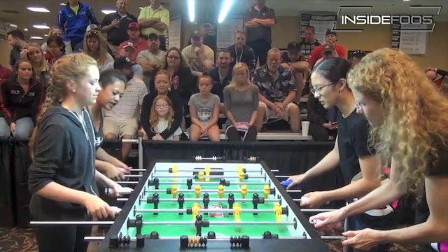 S. Rue/Baumbach vs. Han/Grogan | Women's Doubles Final