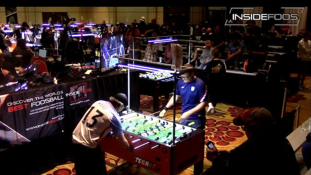 Terry Rue vs. Robert Mares | Open Singles for 5th