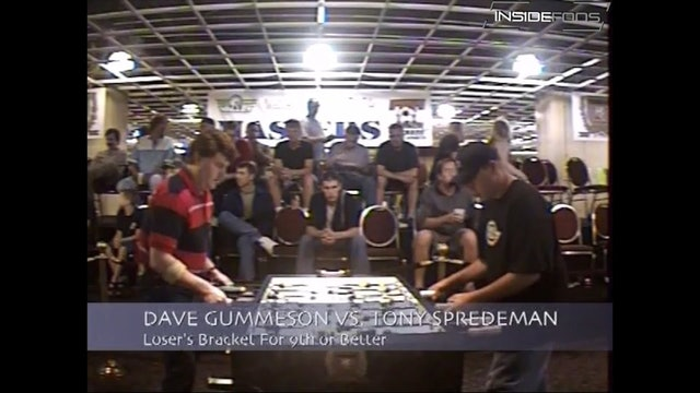 Dave Gummeson vs. Tony Spredeman | Open Singles