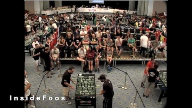 Billy Pappas vs. Robin Hanke | Open Singles Round 32