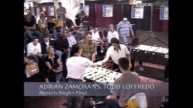 Todd Loffredo vs. Adrian Zamora | Masters Singles Final