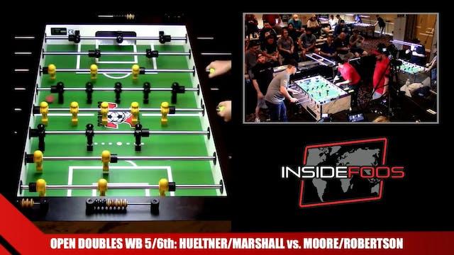 Hueltner/Marshall vs. Moore/Robertson...