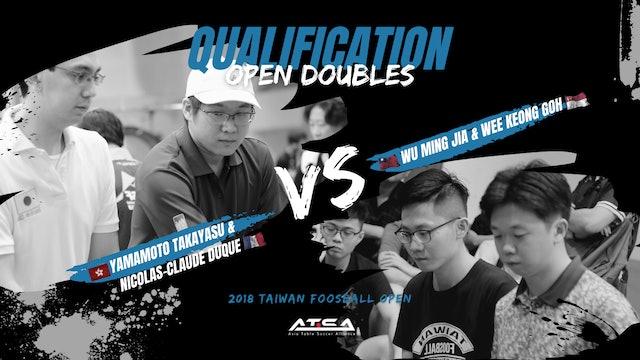 [Yamamoto Takayasu & Nicolas-Claude Duque]vs[Wu Ming Jia & Wee Keong Goh]   ODQ