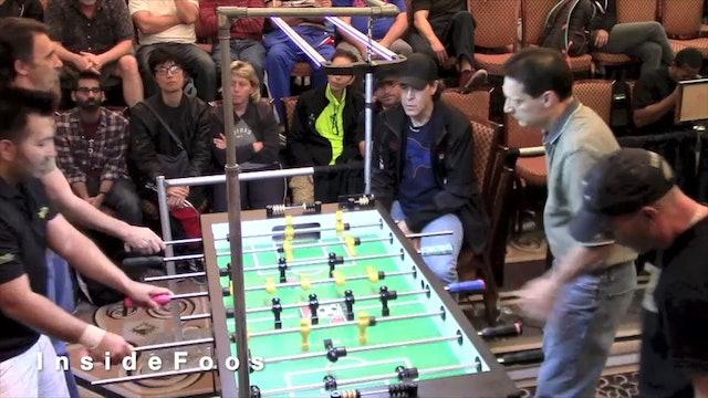 Park/Loffredo vs. Zamora/Marr   Open Doubles Loser's Bracket For 4th