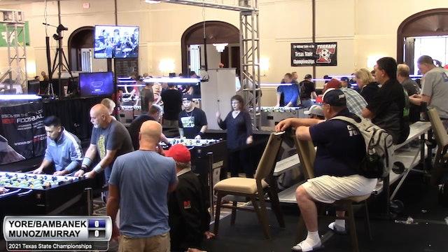 Tom Yore/Dusty Bambenek vs Brandon Muñoz/Gena Murray   Open Mixed for 4th