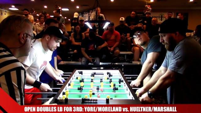 YoreJr/ Moreland vs. Hueltner/Marshal...