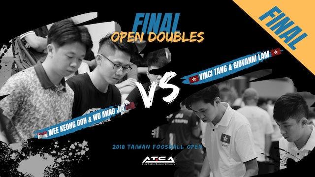 [Wu Ming Jia & Wee Keong Goh]vs[Vinci Tang & Giovanni Lam]   OD-Final