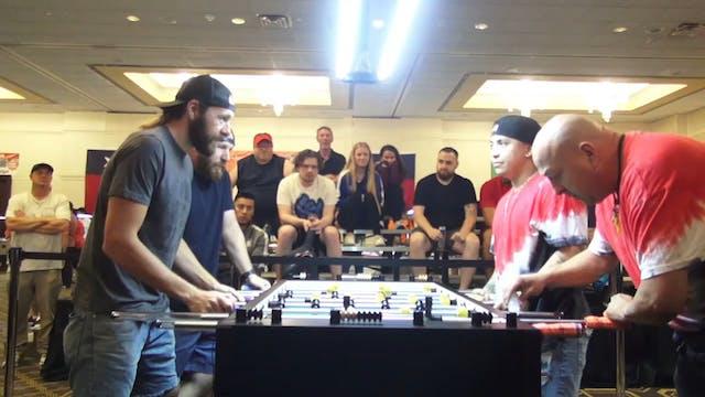Spredeman/Hueltner vs. Munoz/Martinez...