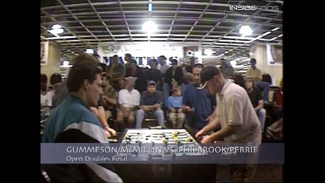 Dave Gummeson/Tracy McMillin vs. Mike Philbrook/Gregg Perrie | Open Dbls Final