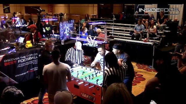 Sergie Aragones/James Castillo vs. Kevin Romero/Terry Rue | Open Doubles for 2nd