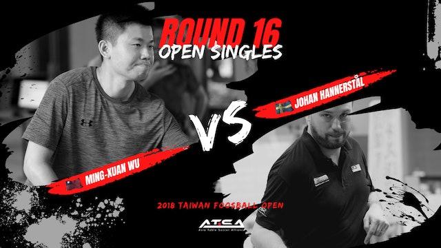 [Wu ming Xuan]vs[Johan Hannerstål]   OS-R16