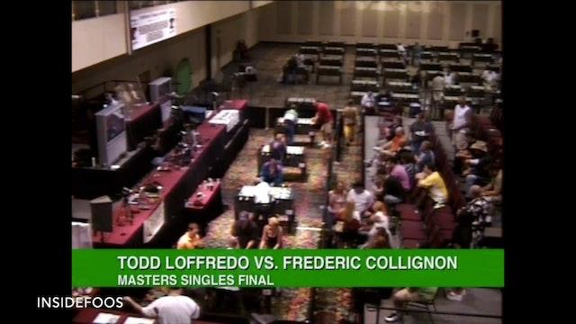 Todd Loffredo vs. Frederic Collignon | Master Singles Final