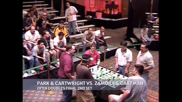 Park/Cartwright vs. Zamora/Gartman | Open Doubles Final 2nd Set