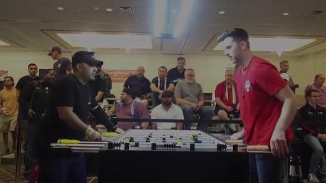 Trevor Park vs. Blake Robertson   Open Singles Loser's Bracket For 13th